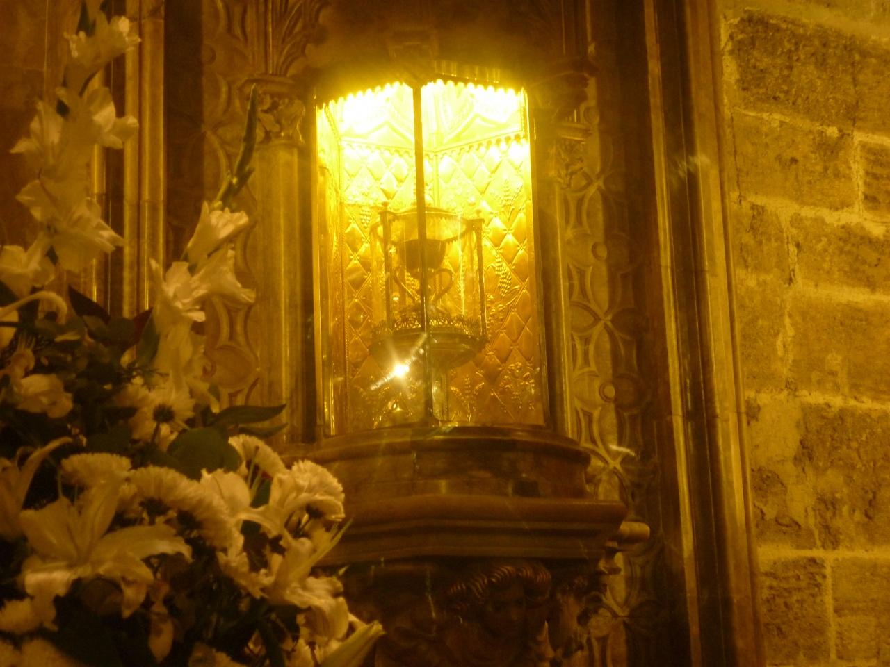 Le Calice du dernier repas du Christ sous bonne garde